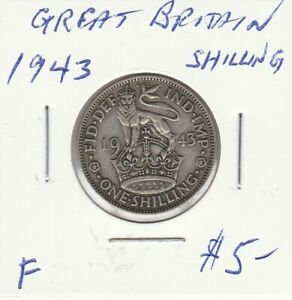 GREAT BRITAIN 1943 SHILLING