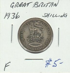 GREAT BRITAIN 1936 SHILLING