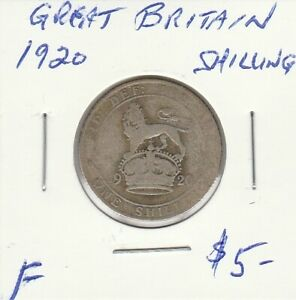 GREAT BRITAIN 1920  SHILLING