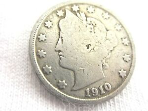 1910 LIBERTY NICKEL V   WITH