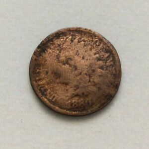 1880 INDIAN HEAD PENNY ONE CENT COIN ESTATE FIND EXACT COIN SHOWN