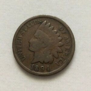1894 INDIAN HEAD PENNY ONE CENT COIN ESTATE FIND EXACT COIN SHOWN