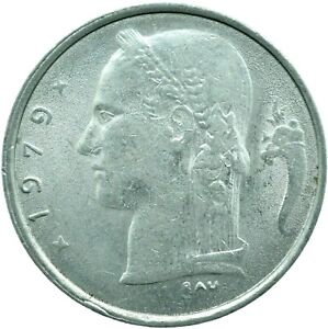 BELGIUM / 1 FRANC / CHOOSE YOUR DATE  / ONE COIN/BUY