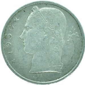 BELGIUM / 5 FRANCS / CHOOSE YOUR DATE  / ONE COIN/BUY