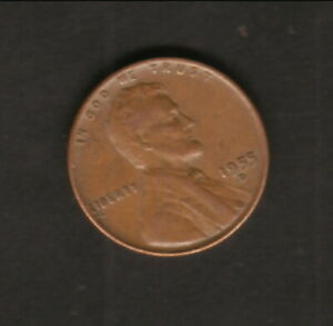 USA  1955D  ABRAHAM LINCOLN WHEAT CENT