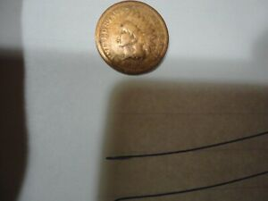 1872 KEY DATE INDIAN HEAD CENT  CIRCULATED BUSINESS BRONZE