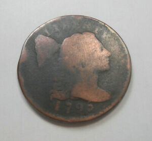 1795 LIBERTY CAP LARGE CENT FULL DATE        225 YEARS OLD