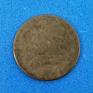 1809 P UNITED STATES CLASSIC HEAD COPPER HALF CENT 1/2C EARLY AMERICAN COIN