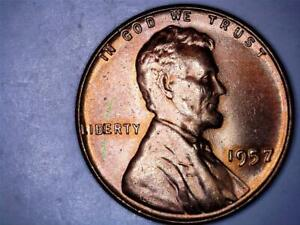 1957 LINCOLN CENT ERROR BE IN LIBERTY BU