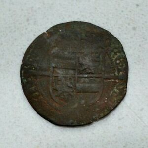 Click now to see the BUY IT NOW Price!  OLD BELGIUM BELGIAN BISHOPRIC OF LIEGE 1546 HAMMERED BILLON 4 SOLS COIN