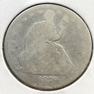 1876 SEATED LIBERTY HALF DOLLAR 50C CIRCULATED 2126
