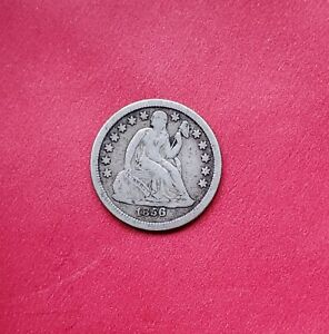 Click now to see the BUY IT NOW Price! 1856 O SEATED LIBERTY DIME LARGE O FINE BETTER DATE