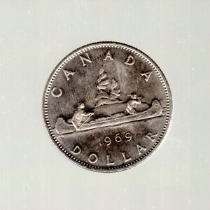 NICKEL DOLLAR VOYAGEUR DESIGN 1969 LOW CIRC. COND.    DEAL    MUST