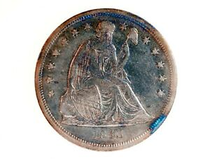 1843 SEATED LIBERTY ONE DOLLAR EARLY $1 U.S. SILVER PHILADELPHIA MINT COIN