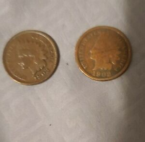 1903 1902 INDIAN HEAD CENT PENNY