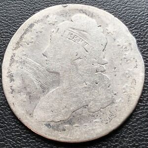 1836 CAPPED BUST HALF DOLLAR 50C CIRCULATED  29259