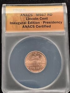 Click now to see the BUY IT NOW Price! 2009 D LINCOLN CENT PRESIDENCY BICENTENNIAL MS67RD ANACS INAUGURAL ED.