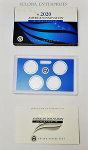 2020 AMERICAN INNOVATION DOLLAR PROOF SET BOX ONLY     NO COINS