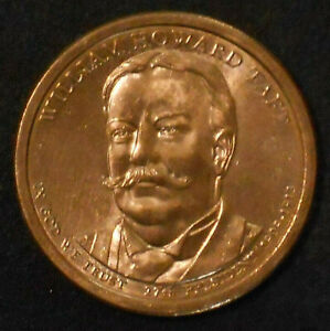 2013 D WILLIAM HOWARD TAFT PRESIDENTIAL DOLLAR.
