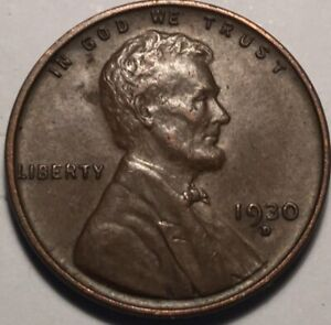1930 D LINCOLN WHEAT PENNY XF  513