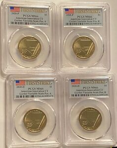 Click now to see the BUY IT NOW Price! 2020 INNOVATION DOLLAR SETS MS66 PCGS  12  COINS CT MD & SC