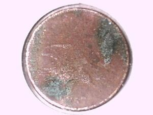1857 FLYING EAGLE CENT GENUINE RAW UNGRADED 00614