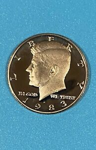 1983 S US PROOF KENNEDY HALF DOLLAR FROM US PROOF SET SC25