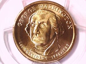 2007 D GEORGE WASHINGTON DOLLAR PCGS MS 69 SATIN FINISH POSITION B 11910008