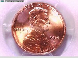 2014 D LINCOLN SHIELD CENT PCGS MS 65 RD 29746879 VIDEO