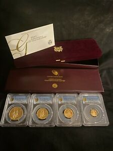 Click now to see the BUY IT NOW Price! 2021 W PROOF GOLD EAGLES 4 COIN SET PCGS PF70 FIRST STRIKE