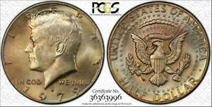 Click now to see the BUY IT NOW Price! 1979 D KENNEDY HALF DOLLAR BU UNCIRCULATED PCGS MS64 COLOR TONED IN HIGH GRADE