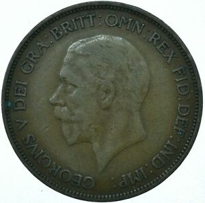 1936 ONE PENNY GB UK GEORGE V COLLECTIBLE COIN  WT27877