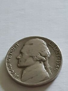 1946 P JEFFERSON NICKEL SEE THE PIC FOR THE GRADE  STARTING AT ONE CENT.