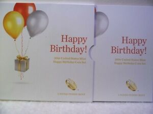 Click now to see the BUY IT NOW Price! 2016 S US MINT HAPPY BIRTHDAY PROOF 5 COIN SET