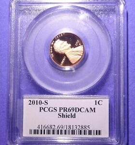 2010 S LINCOLN CENT PCGS PROOF 69 DEEP CAMEO LYNDALL BASS SIGNATURE