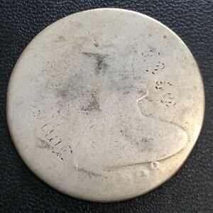 1798 DRAPED BUST ONE DOLLAR 50C CIRCULATED  33554