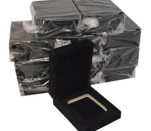 VELVET COIN DISPLAY CASE  BOX  FOR 1 CERTIFIED SLAB COIN FITS NGC PCGS ANACS ICG