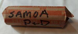 2009 P& D SAMOA TERRITORY QUARTER ROLL PULLED FROM CIRCULATION