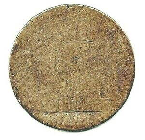 1861 VICTORIAN PENNY. WORN WITH LEGIBLE DATE