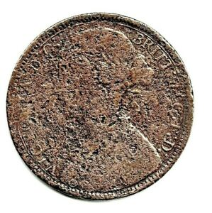 1866 VICTORIAN PENNY. DISTRESSED BUT CLEAR DATE.