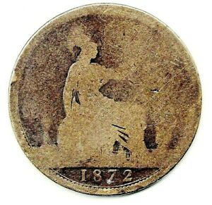 1872 VICTORIAN PENNY.