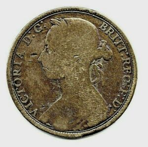 1891  VICTORIAN PENNY.