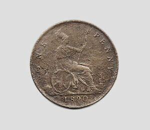 1890 VICTORIAN PENNY.