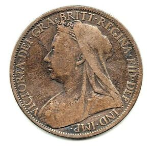 1901 VICTORIAN PENNY