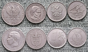 LOT WORLD COINS COLLECTION NICE COINS R5