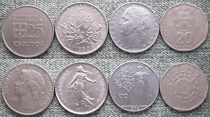 LOT WORLD COINS COLLECTION NICE COINS R6