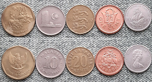 LOT WORLD COINS COLLECTION NICE COINS R10