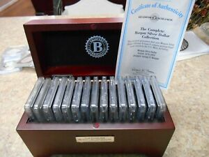 THE BRADFORD EXCHANGE THE COMPLETE MORGAN SILVER COLLECTION 1878 1902 VOL.1