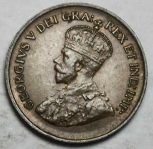 CANADA 1935 SMALL CENT AU OLD DATE KGV  32G