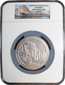 Click now to see the BUY IT NOW Price! 2010 P SILVER 5 OZ YOSEMITE NATIONAL PARKS ATB NGC SP69 EARLY RELEASES